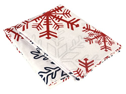 Brielle 100 Percent Cotton Flannel Snowflake