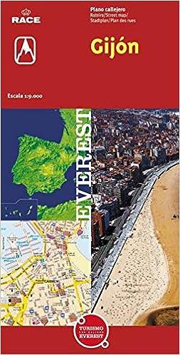 Gijón. Plano callejero Planos callejeros / serie roja ...