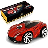 SainSmart Jr. Genuine VC-01 Voice Command Car, Voice-Activated Racing Car with Smart Watch Radio Control, Red