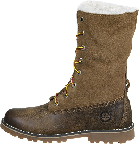 Timberland Authentics Mixte Bottes Marron Enfant ZOPqZrw6