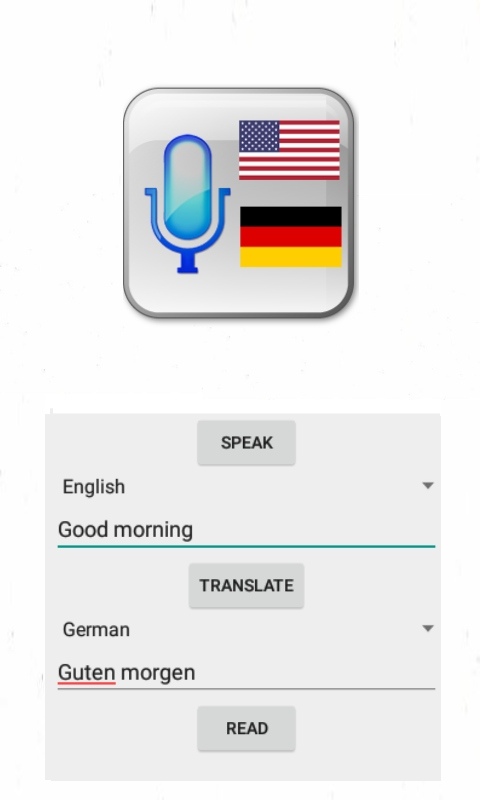 Amazoncom Speak And Translate To German Appstore For Android