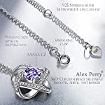 Alex Perry Necklace Gifts for Women, Satellite Series Pendant Presents for Her, 925 Sterling Silver, 5A Cubic Zirconia…