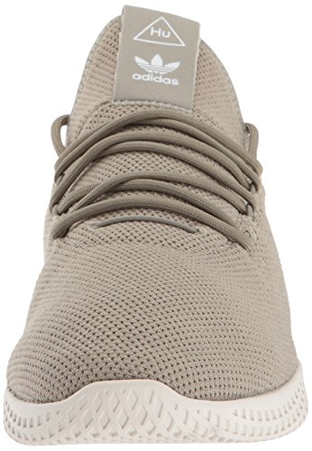 adidas Originals Men's Pharrell Williams Tennis HU Running Shoe Tech Beige/Chalk White, 4 Medium US by adidas Originals (Image #4)
