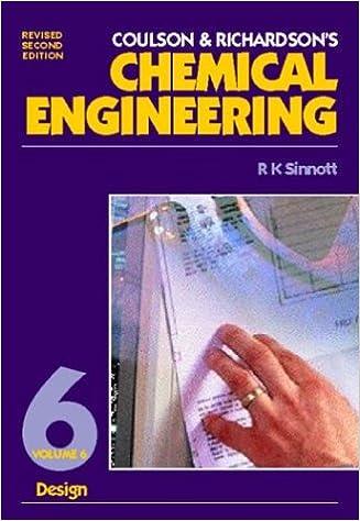Amazon Com Chemical Engineering Vol 6 Second Edition Design 9780750625586 Sinnott R K Books