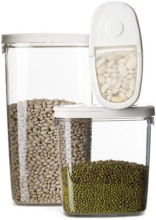 IKEA 365+ - tarro con tapa, transparente, blanco - 1,3 l: Amazon.es: Bricolaje y herramientas