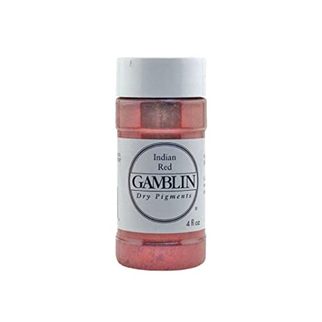 Dry Pigment Color: Indian Red, Size: 3.17 oz