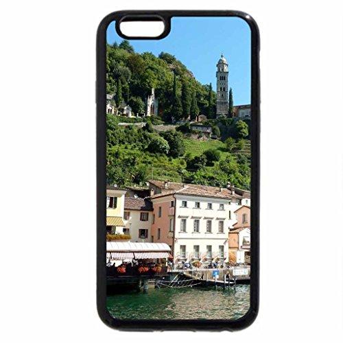iPhone 6S / iPhone 6 Case (Black) wonderful swiss lakeside village