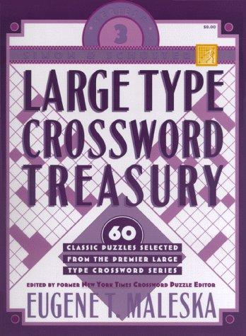 Simon & Schuster Large Type Crossword Treasury #3