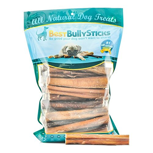 USA 6-inch Thick Bully Sticks by Best Bully Sticks (50 Pack) by Best Bully Sticks