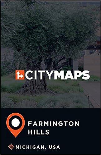 Farmington Hills Michigan Map.City Maps Farmington Hills Michigan Usa James Mcfee 9781974054367