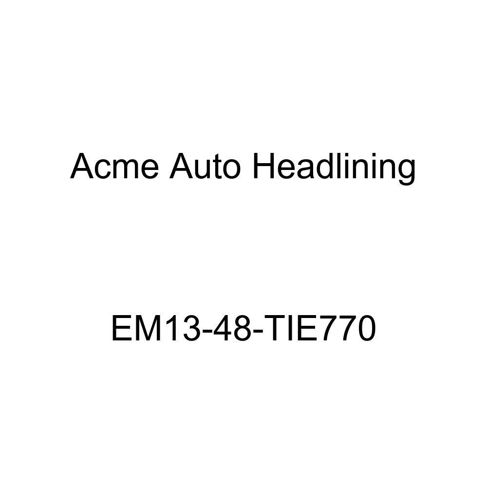 Acme Auto Headlining EM13-48-TIE770 Black Replacement Headliner 1940 Cadillac Series 60, 61, 62, 72, 75, 90 4 Door Limousine
