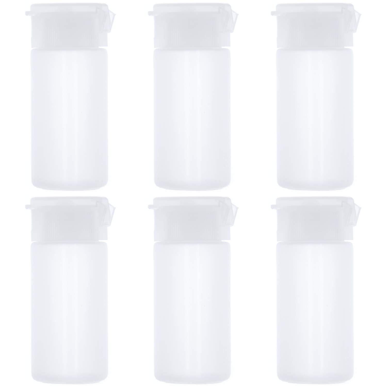 Amazon.com: AnFun - 6 botellas de plástico vacías de tamaño ...