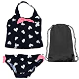 OshKosh Heart Tankini Navy 2 Piece Swim Suit 5