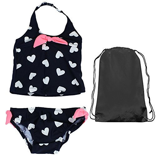 Price comparison product image OshKosh Heart Tankini Navy 2 Piece Swim Suit 5