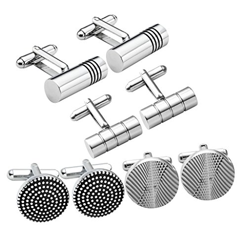Stainless Exquisite Classic Pattern Cufflinks