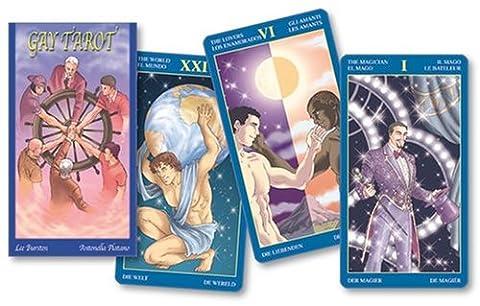 Gay Tarot (English and Spanish Edition) (Spanish Cards Tarot)