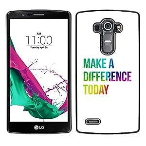 LECELL--Funda protectora / Cubierta / Piel For LG G4 -- BIBLIA diferenciamos Hoy --