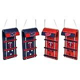 Minnesota Twins MLB Toboggan 4 Pack Ornament Set