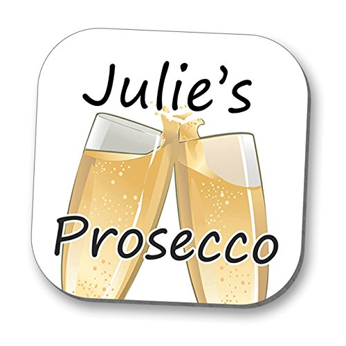 Personalised Coaster - Prosecco! © Hot off the Press UK Exclusive Design