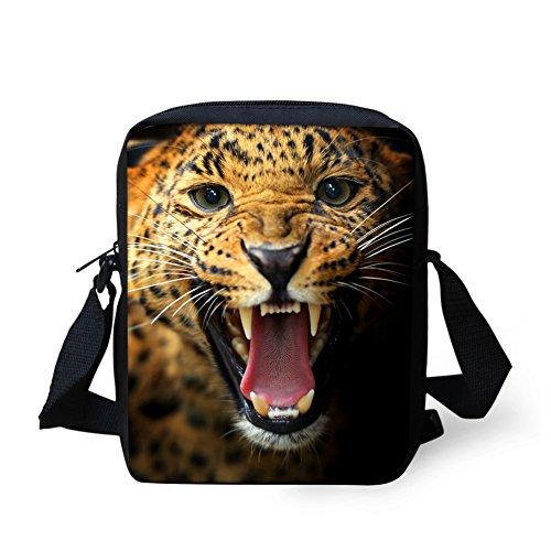 leopard Cell Women Crossbody IDEA Shoulder Horse Purse for Bags Mini Handbag Adjustablle Pouch HUGS Men Kids phone xqBa8OgnwB