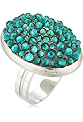 TARINA TARANTINO Pave Mod Ring, Size 7.5-8.5