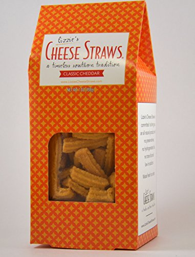 Lizzies Cheese Straws, Cheese Straws Classic, 7 Ounce