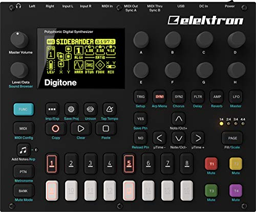 Elektron Digitone 8-voice Digital Synth w/sequencer for sale  Delivered anywhere in USA