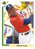 1991 Upper Deck Short Print #SP1 Michael Jordan Pre-Rookie Baseball Card - First Card in a Chicago White Sox Jersey