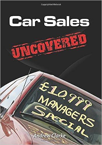 Download Car Sales Uncovered PDF, azw (Kindle), ePub, doc, mobi