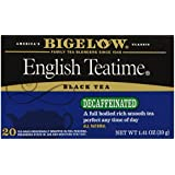 Bigelow Decaffeinated English Teatime Tea, 20-Count Boxes (Pack of 6)