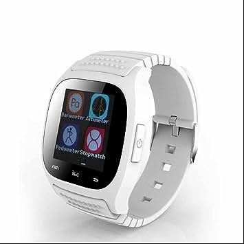 SmartWatch Bluetooth reloj Intelligent con Notificación de WhatsApp /Monitor de Ritmo Cardíaco y Sueño/