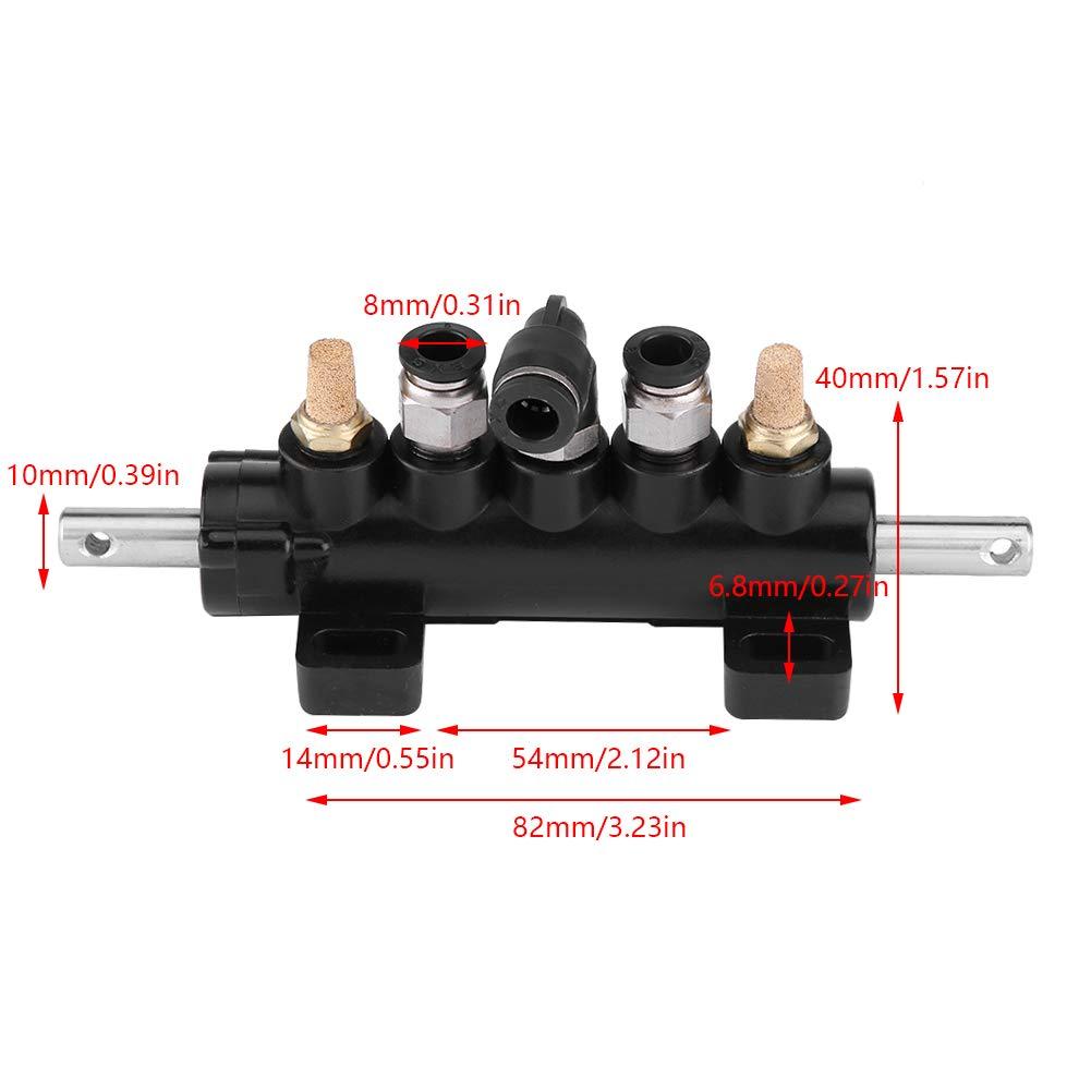 4 type B KIMISS Valve Contr/ôle Dair Valve de P/édale pour changeur Pneu Ranger Fournitures pour Machines blanc Type B