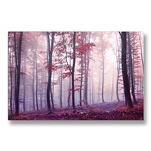Hand Painted Canvas Paintings Nature Unframed Tablet 48X30 inch (122X76 cm) for Living Room Bedroom Dining Room Wall Decor To DIY Frame Home Decoration by Neron Art by Neron Art