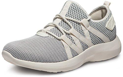 Tesla TF-X735-ORO_Men 10.5 D(M) Unisex Boost Slip-on Design Running Walking Sneakers Performance Shoes X735