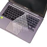 JRCMAX Keyboard Cover, Premium Ultra Thin Keyboard Protector for ASUS ZenBook UX330UA-AH54 13.3-inch UX31A-DH71 UX305UA UX303UB UX303