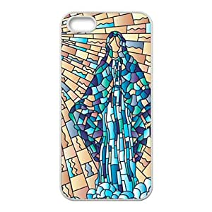 Stained Glass Fashion Comstom Plastic case cover For Iphone 5s