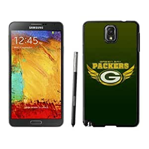 Classic Green Bay Packers Samsung Galaxy Note 3 Case Black Cell Phone Hard Back Cover by kobestar
