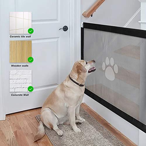 Namsan Perros Barrera Rejilla de protección Rejilla se Puede Cerrar Perros Barrera para Mascotas, 80 cm x 100 cm: Amazon.es: Productos para mascotas