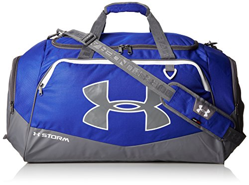 Under Armour Storm Undeniable II Duffle, Royal /White, One Size