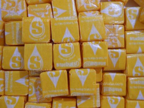 Lemon Starburst Chewy Yellow Starburst Candy 2lbs by CandyMafia]()