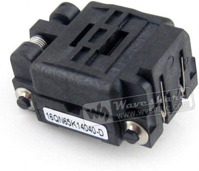 ALLPARTZ QFN16 MLP16 MLF16 16QN65K14040 Plastronics IC Test /& Burn-in Socket