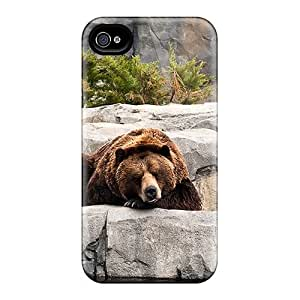 Earurns Case Cover For Iphone 4/4s - Retailer Packaging Bears Life Protective Case
