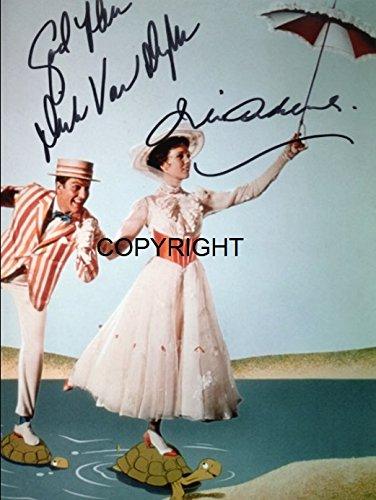 Limited Edition Mary Poppins unterzeichnet Foto Autogramm signiertsigniertes