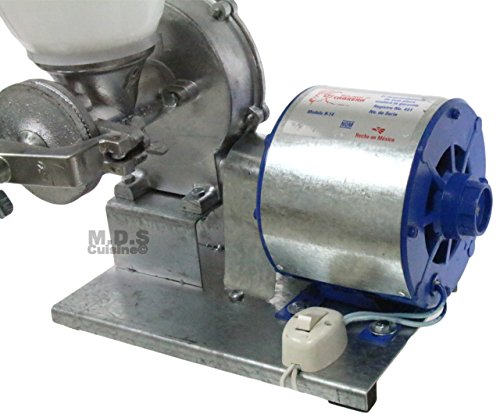 Electric Mill Corn Grain Wheat Grinder Heavy Duty Commercial Molino Maiz 1/4 HP by Ematik (Image #2)