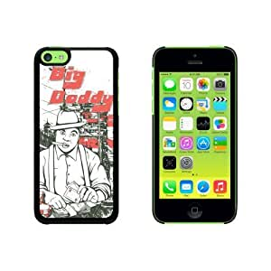 Big Daddy Gambler - Poker Gangster Snap On Hard Protective For HTC One M8 Phone Case Cover - Black