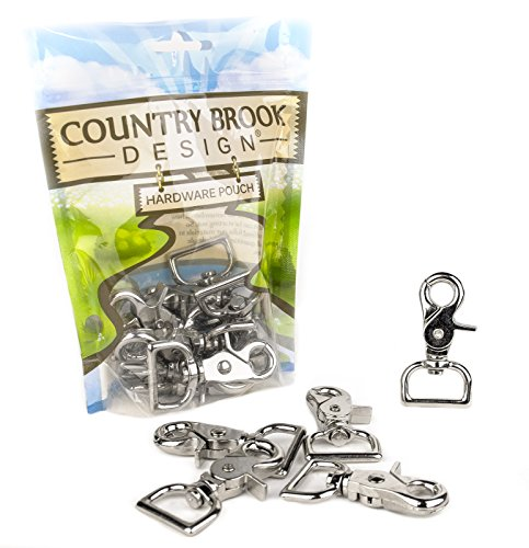 25 - Country Brook Design | 1 Inch Trigger Swivel Snap Hooks