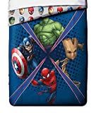 Marvel Universe Battlefront Microfiber Twin Comforter 64 in x 86 in