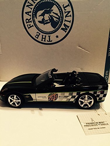 Franklin Mint 2008 Corvette LS3 Indy 500 Pace Car Convertible by The in 1:24 Scale