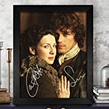 Sam Heughan & Caitriona Balfe Autographed Signed Photo 8x10 Reprint RP PP [Outlander]