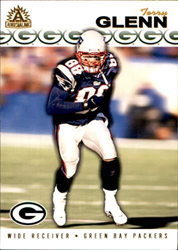 2002 Pacific Adrenaline #105 Terry Glenn RIP NEW ENGLAND PATRIOTS OHIO STATE BUCKEYES - 2002 Buckeyes Football Ohio State